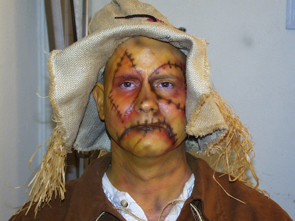 Scary Scarecrow Makeup wwwgalleryhipcom  The Hippest Pics - Scarecrow Halloween Makeup